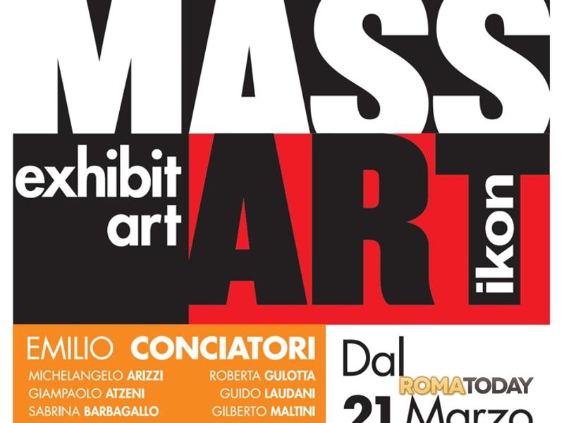 al via mass art- ikon- l'arte contemporanea approda al centro commerciale euroma2