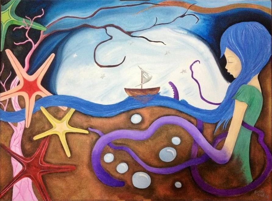 """Eliana Calò: """"Io sono il mare"""""""