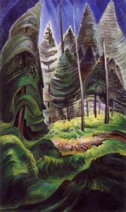 EmilyCarr-A-Rushing-Sea-of-Undergrowth-1932-35
