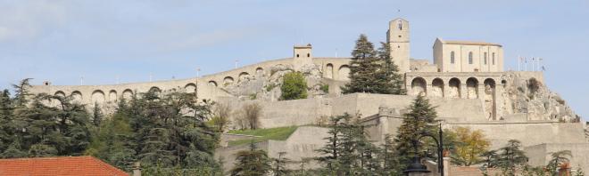 Sisteron citadel, France