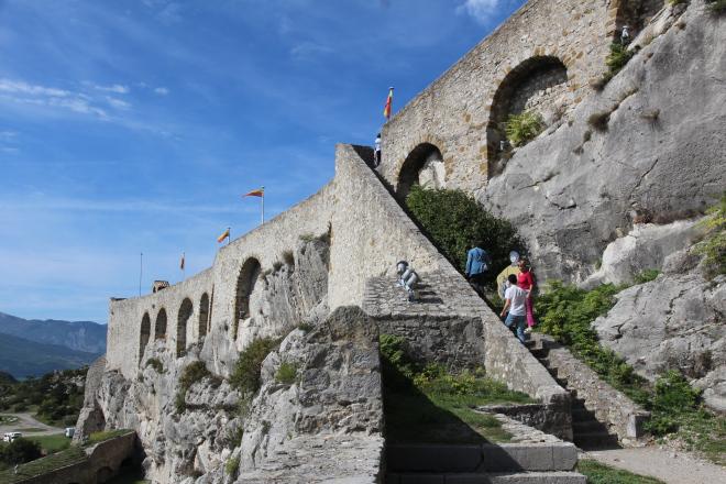 Touring Sisteron citadel