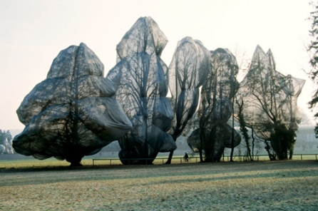 Wrapped Trees - Christo e Jeanne-Claude