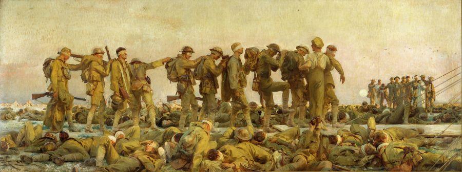 Sargent John Singer (RA) Gassed