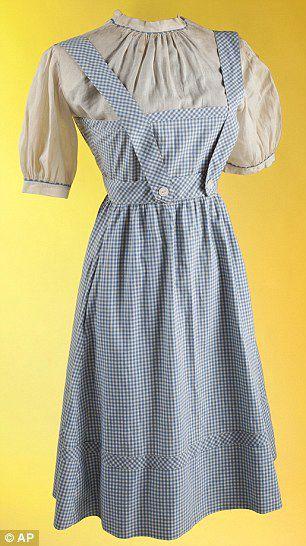 Costume Judy Garland indossato nel film Il mago di Oz