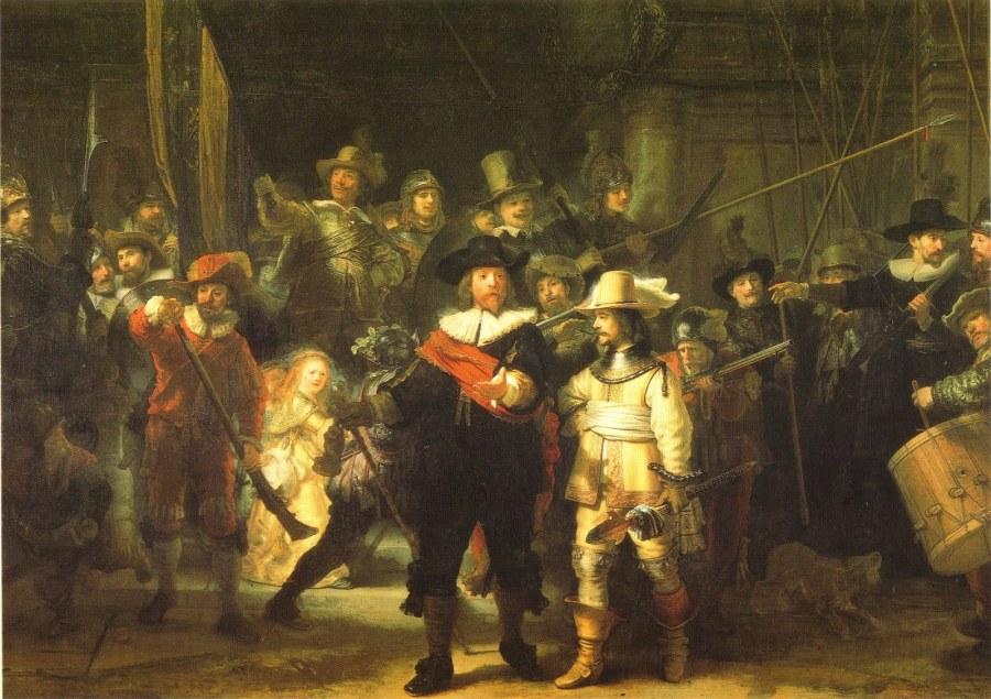 Rembrandt. La ronda di notte