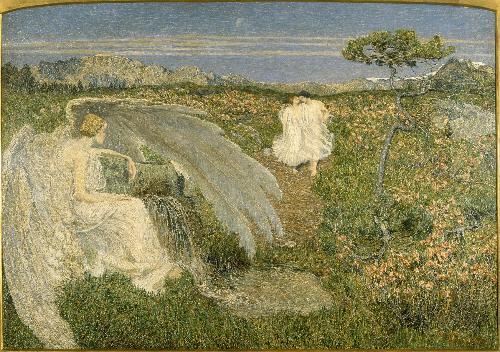 Giovanni Segantini, L'amore alle fonti della vita, 1896