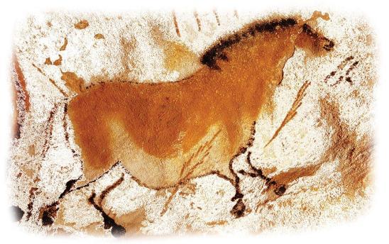 Andrea Benetti omaggio alla pittura rupestre