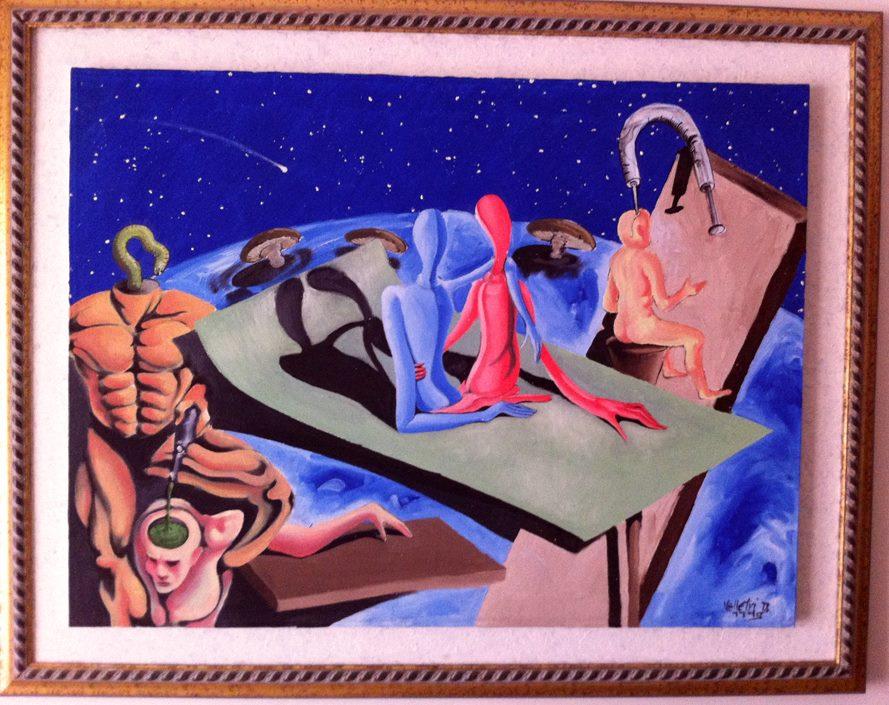 The flying carpet, 1995