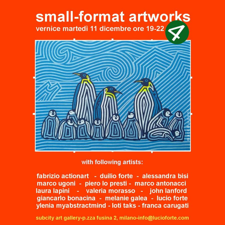 small format artwork