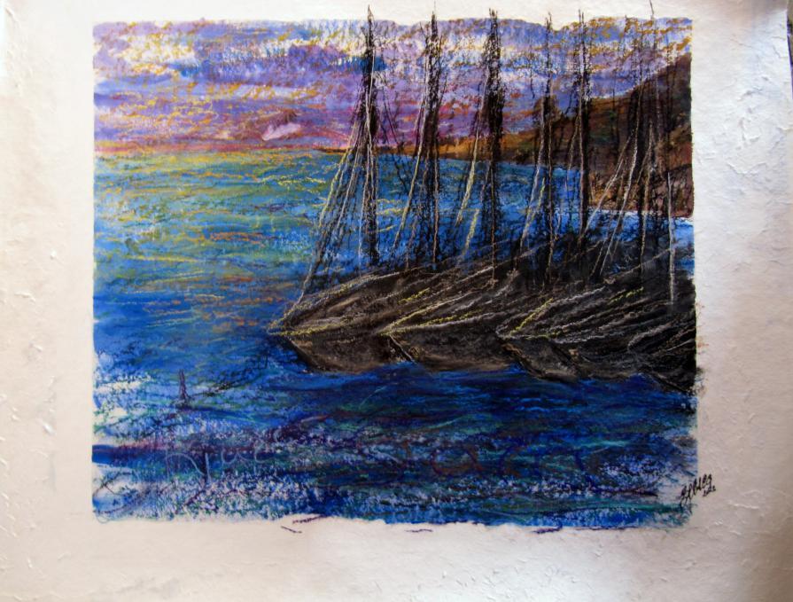 Le cinque barche a vela
