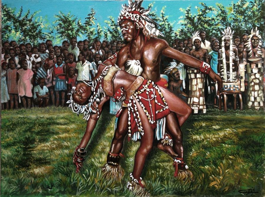 Danzatori del Congo