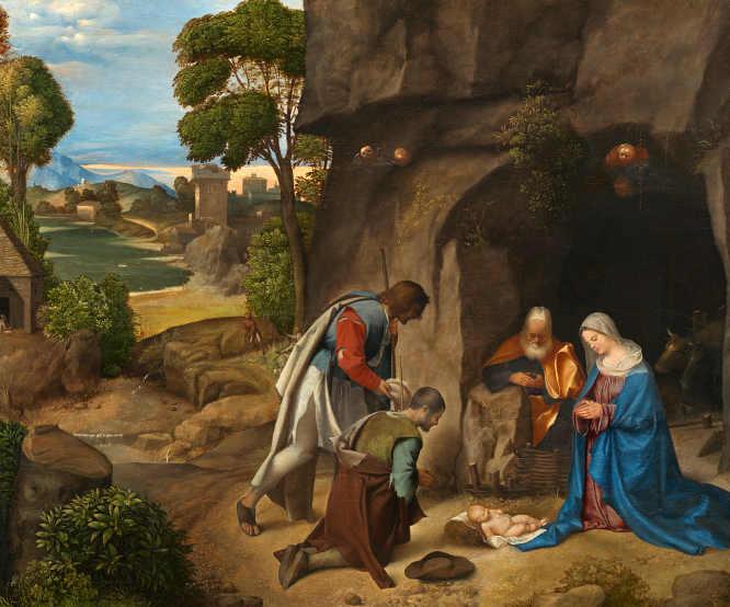 Natività Allendale di Giorgione